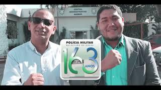 Nesta semana, nossa gloriosa Polícia Militar do Estado de Goiás completa 163 anos.