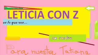 Download Leticia con Z presenta