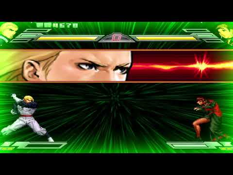 Mugen King of Fighters Wing (2011) All Desperation Moves