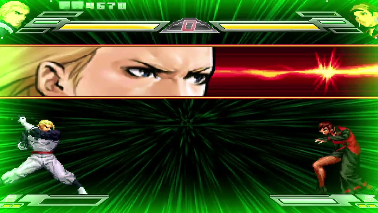 Mugen King of Fighters Wing (2011) All Desperation Moves