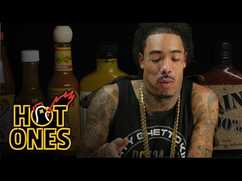 Gunplay Talks Rick Ross, Wingstop, and X-Box Live Fights While Eating Spicy Wings | Hot Ones