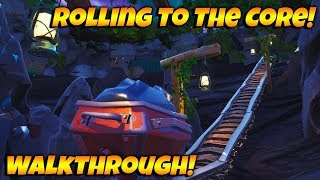 How To Complete Rolling To The Core In Fortnite Creative! NEW FEATURED ISLAND PLAYTHROUGH!
