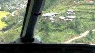 Most dangerous landing in the world - Bhutan? (Original)