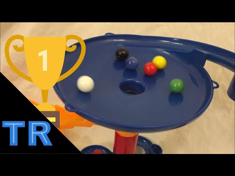Team Marble Race #5 w/ Solid Colors - Toy Racing