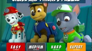 Щенячий патруль: Гонщик и друзья (Chase and Friends Puzzle)