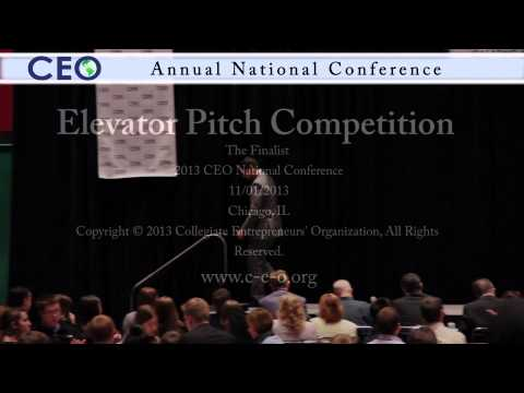 2013 National Elevator Pitch Competition Final Round - CEO National Conference Chicago