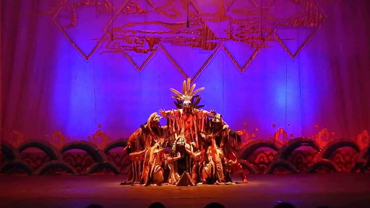 Shaman Dance - Theatrical Performance by Mongolian ...