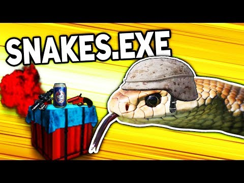 SNAKES.EXE In PUBG Mobile