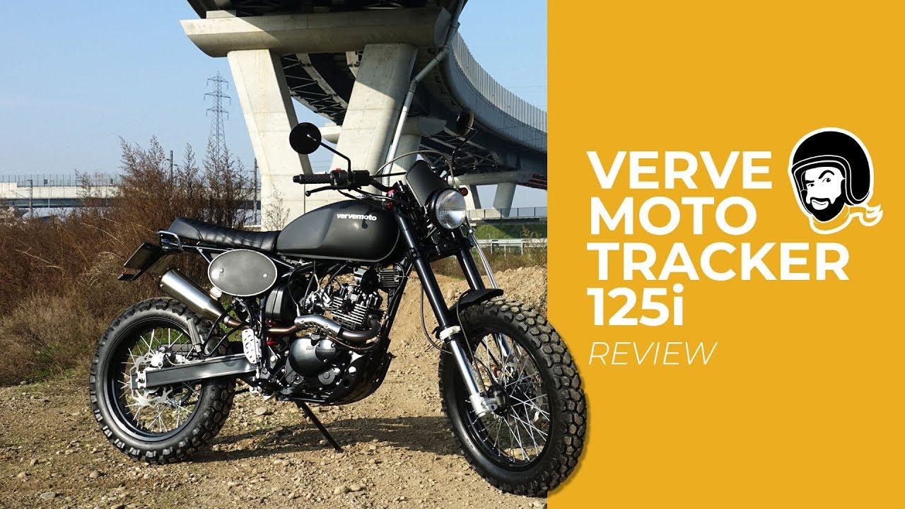 Verve Moto Rastreador 125i El Malhechor Revisión De Video De Motoretto