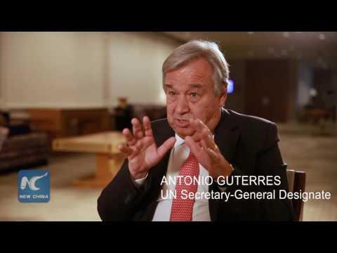 Exclusive interview with next UN chief Antonio Guterres (FULL) 新华社独家专访联合国候任秘书长安东尼奥·古特雷斯