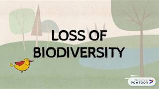 GLOBAL ISSUES: Loss Of Biodiversity