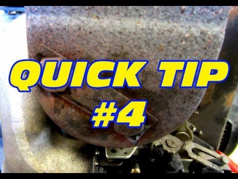 Quick Tip #4 - Removing Rusty Muffler Bolts