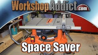 Ridgid R4513 Portable Table Saw with Stand Review
