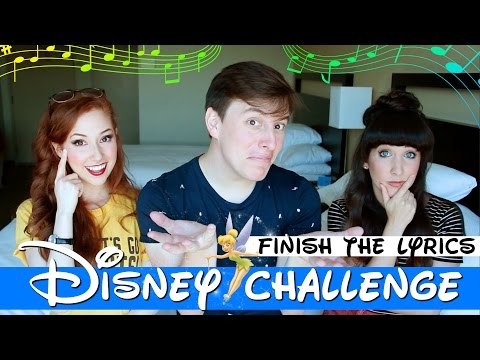 DISNEY CHALLENGE: FINISH THE LYRICS (ft. Thomas Sanders)