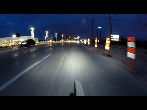Cycle Time Saves You Time! Night Commute By Bike Blogger