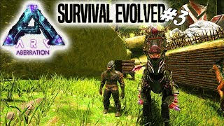 RAPTOR RONNIE + CLIMBING PICK! - ARK Survival Evolved Aberration Dansk Ep 3