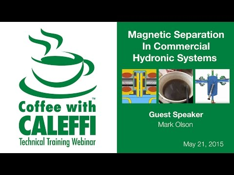 Magnetic Separation In Commercial Hydronic Systems