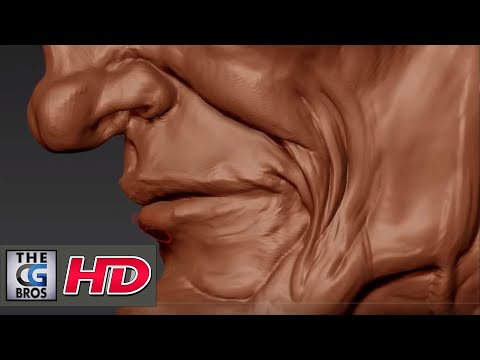 "CGI 3D Tutorial : ""Sculpting In zBrush: Stage 01"" - by Flipped Normals"