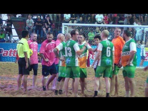 13th Pattaya Beach Football Cup France 8 - 10 Ireland EP 3