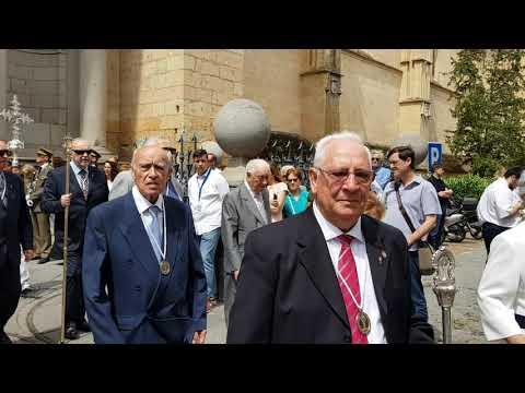 Procesión Corpus Christi en Segovia 2019 23/6/2019