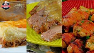 Что приготовить быстро и вкусно для гостей? | 3 СОЧНЫХ рецепта, от которых пальчики оближешь