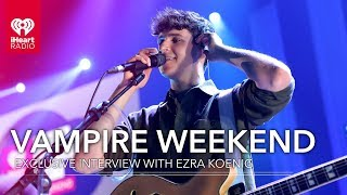 Vampire Weekend's Ezra Koenig Talks 'Father Of The Bride,' And More! | Exclusive Interview