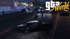 GTA World | Police Evade | GTA V RP