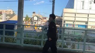 小田急8000形8251編成デハ8501 ドア閉め 高座渋谷にて