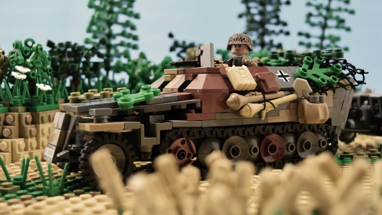 Lego Ww2 Sd Kfz 251 1 Ausf D Cinematic Review Molegode