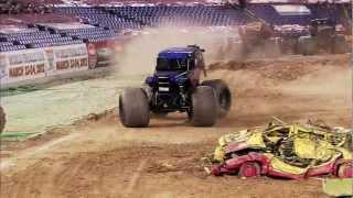 Monster Jam - Ryan Anderson & Son-Uva Digger Monster Truck Full Freestyle Run from Baltimore -  2011