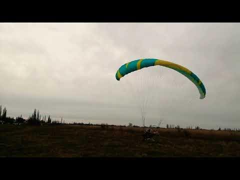 Полет на параплане. Paragliding