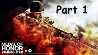 Medal of Honor: Warfighter Walkthrough Part 1 PS3
