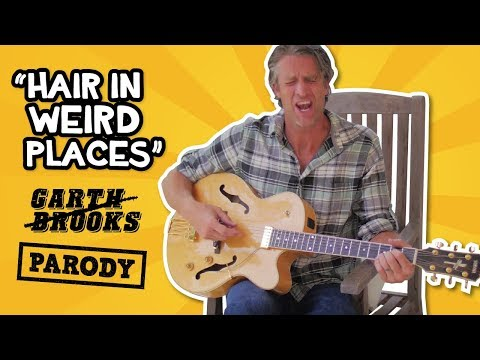 Friends in Low Places PARODY// Hair in Weird Places // The Holderness Family