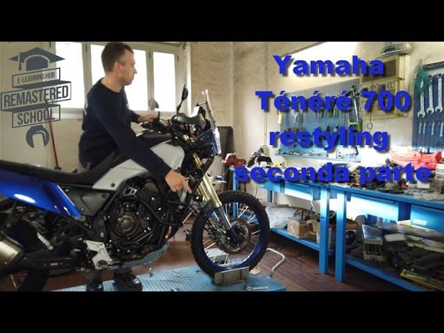Yamaha Ténéré 700 restyling seconda parte