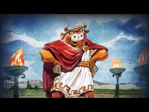 Волшебный Фонарь - Подвиги Геракла  - древнегреческие мифы