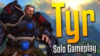 Smite: Can't Stop the King!- Tyr Solo Gameplay