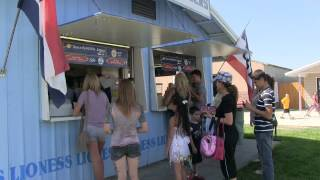 Spaceburgers land at the Grant County Fair