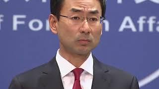 耿爽: 中央政府支持香港对暴力行为依法予以处置