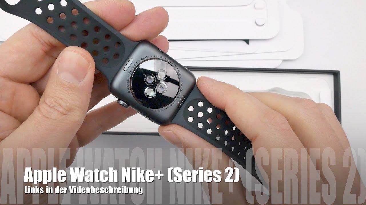 432a8f60987455 Apple Watch Nike+ Plus in schwarz  anthrazit - Unboxing und Vergleich