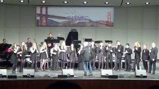 2017 California All State Jazz Choir - Say Ladeo
