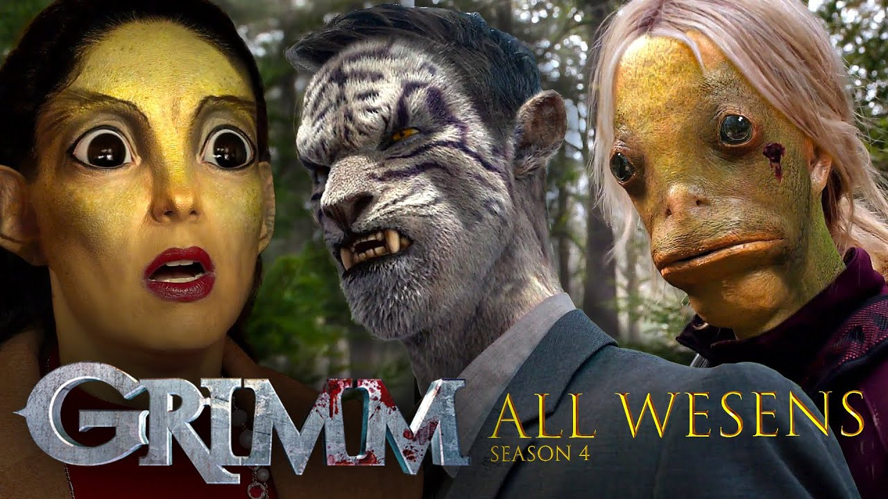 Download ALL the Wesen Creatures From Season 4 | Grimm