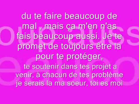 A Toi Ma Soeur 0001 Youtube
