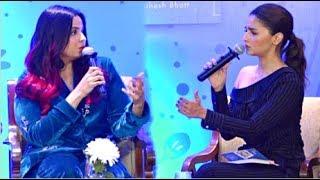 FULL VIDEO! Alia Bhatt Takes SISTER Shaheen Bhatt Interview At Her Book Launch