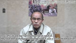 SOS from Mayor of Minami Soma City (Fukushima nuclear power plant, Japan)