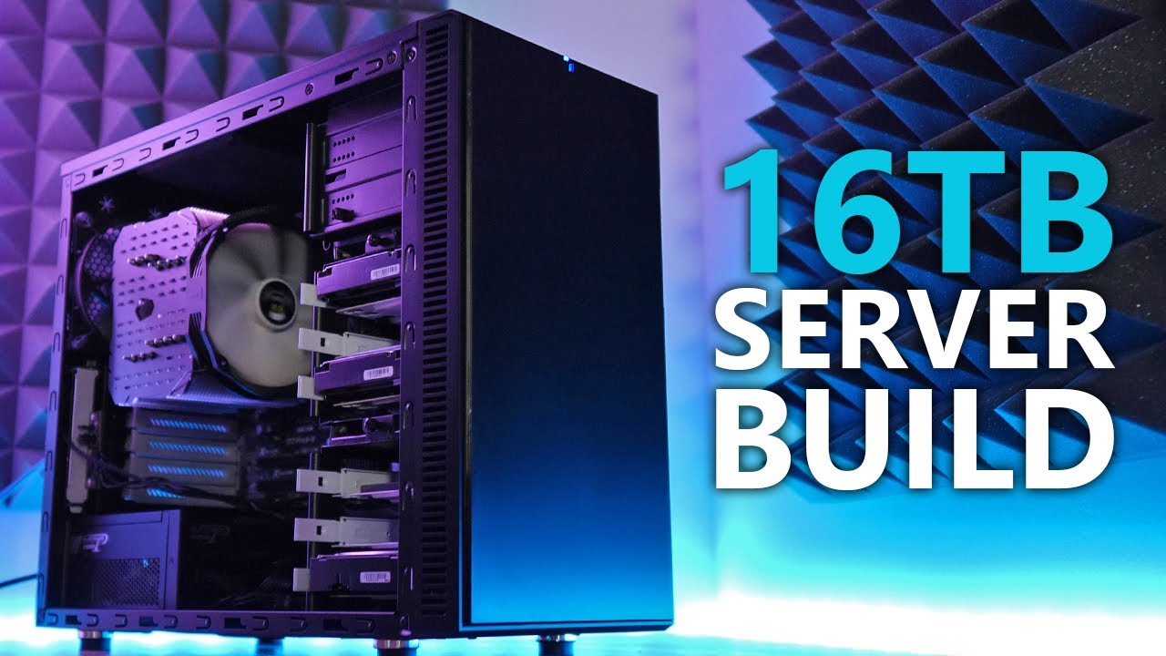 How To Build A Home Server Part 2 16tb Home Server Build 2019 Youtube