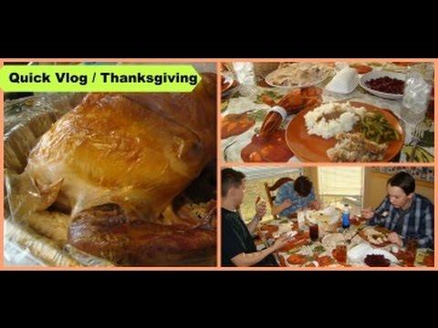 WEEKLY QUICK VLOG November 24=26 Thanksgiving