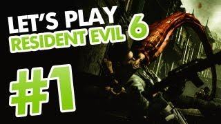 Resident Evil 6 [Chris] - Let's Play FR [HD] - Partie 1