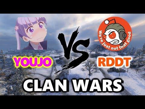 World of Tanks - YOUJO vs RDDT - Arctic Region CLIMB! - CLAN WARS #26