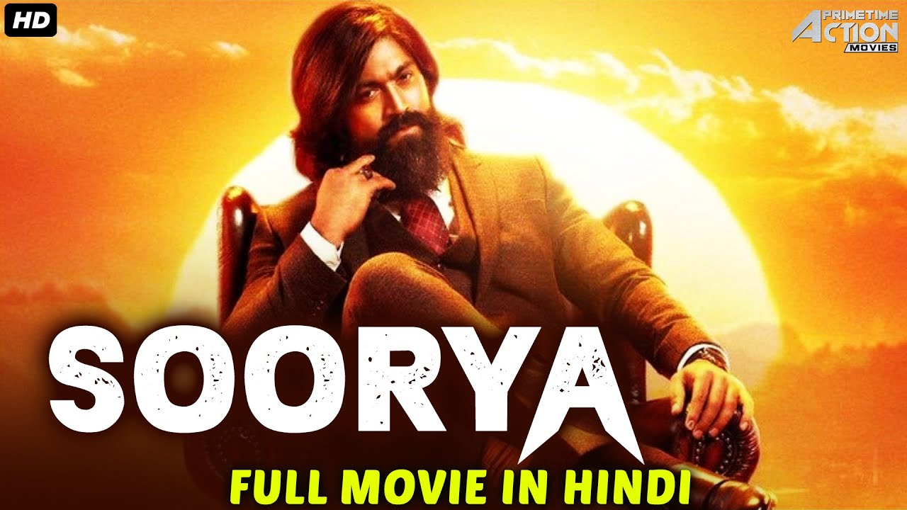 Yash & Radhika Pandit's SOORYA Movie Hindi Dubbed | Superhit Hindi Dubbed Full Action Romantic Movie