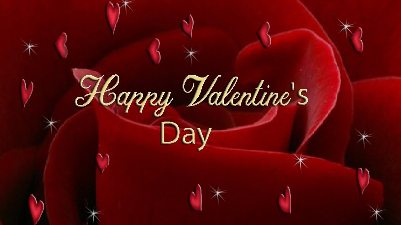 Happy Valentines Day Animated Cards YouTube – Animated Valentine Cards